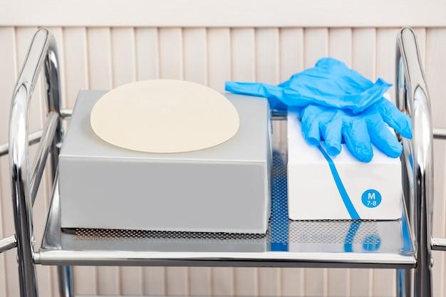 Implante mamario de silicona