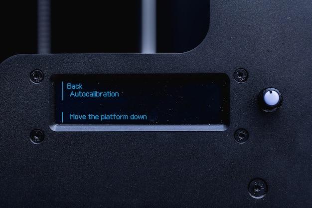 Impresora 3d de trabajo