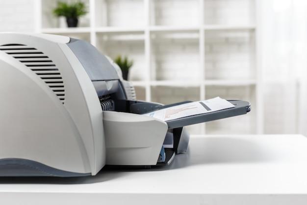 Impresora en oficina