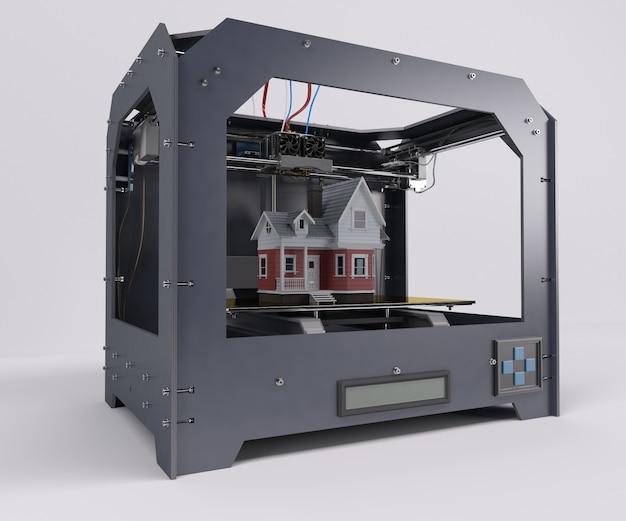 Imprimiendo una casa victoriana