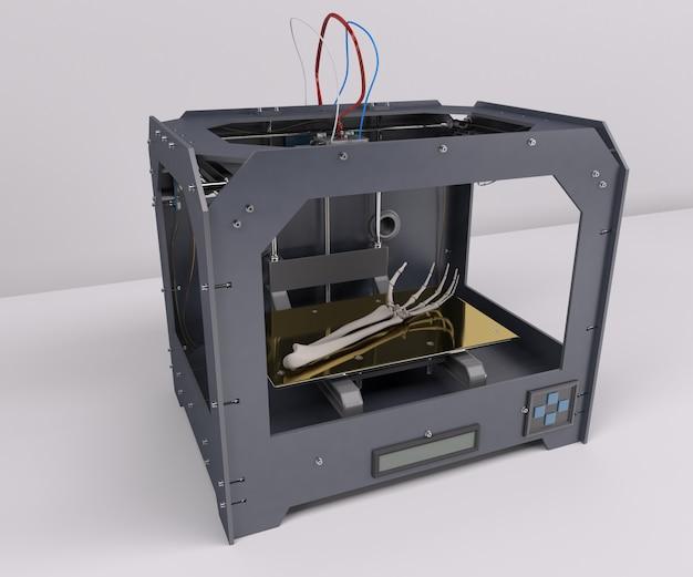 Imprimiendo un esqueleto humano