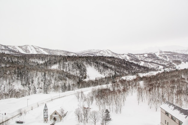 Increíble hokkido invernal de turismo y fotografía.
