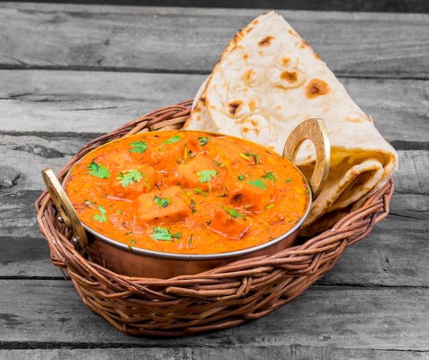 Indian delicious cuisine paneer tikka masala