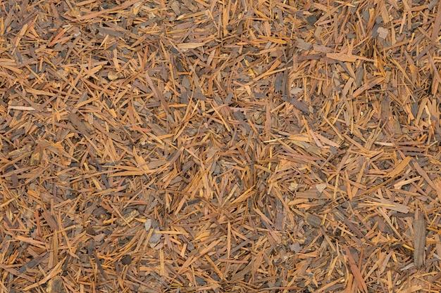 Infusión de lapacho de hierbas, de cerca, macro.