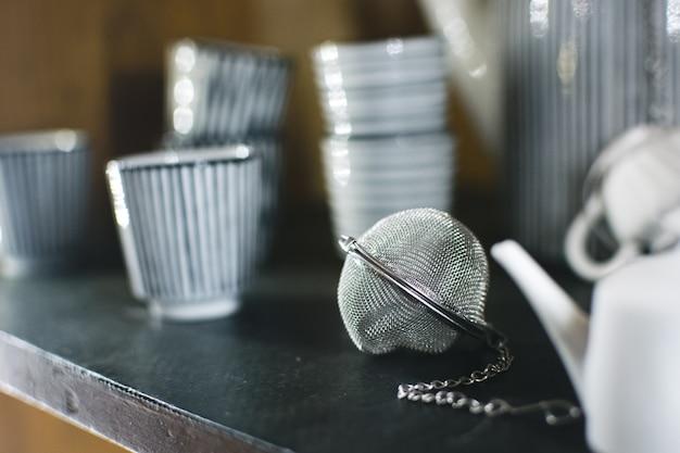Infusor de té en una tienda