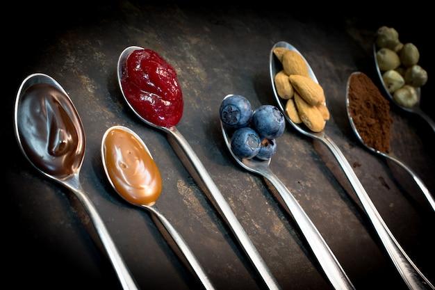 Ingredientes de alimentos naturales