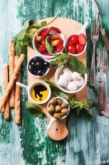 Ingredientes de comida italiana