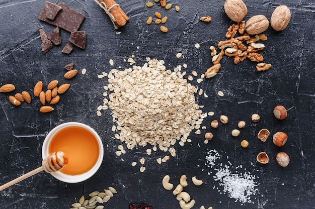 Ingredientes para una granola eko deliciosa y saludable