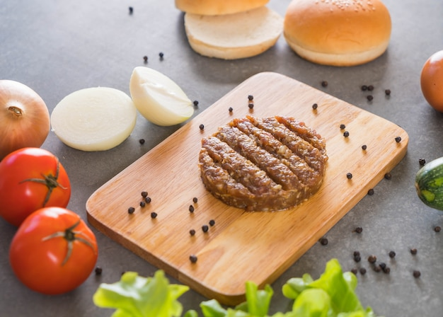 Ingredientes de hamburguesa