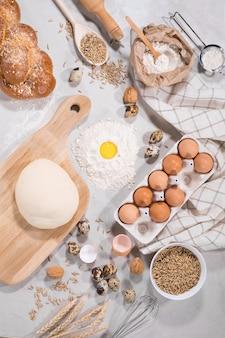 Ingredientes naturales para hornear