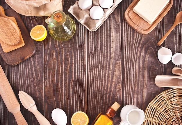Ingredientes para repostería casera