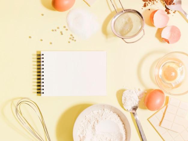 Ingredientes de tarta