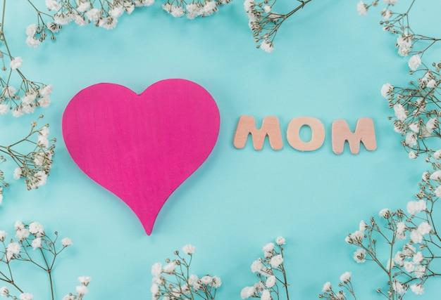 Inscripción para el día de la madre.