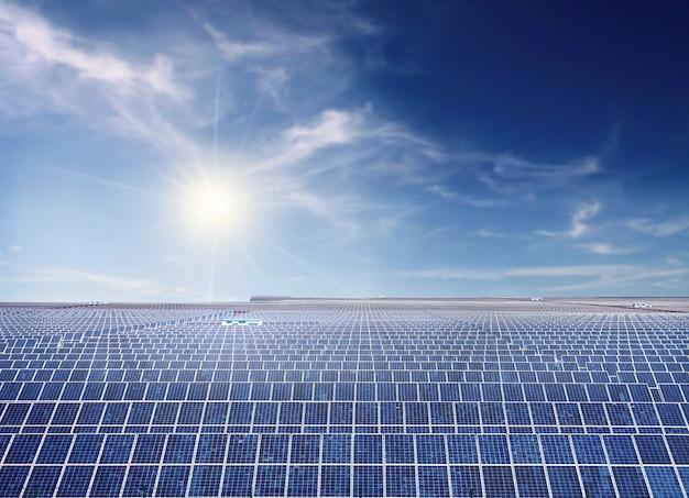 Instalación fotovoltaica industrial.