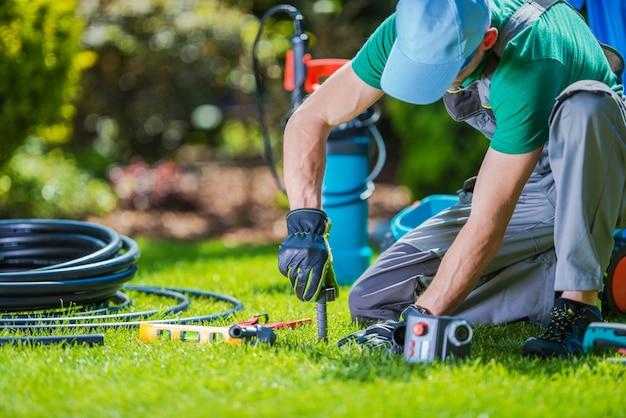 Instalador de sistemas de jardín
