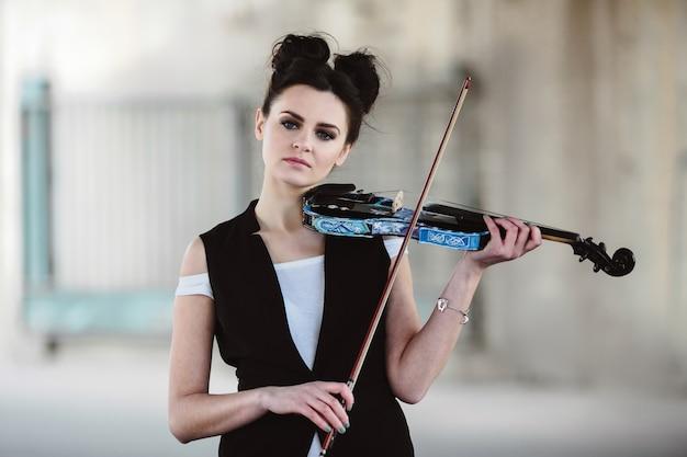 Instrumento solo violín solista