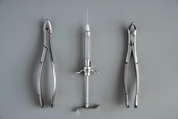 Instrumentos médicos de odontología forcept superior / inferior