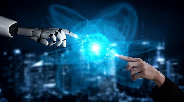 Inteligencia artificial futurista