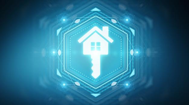 Interfaz digital inmobiliaria