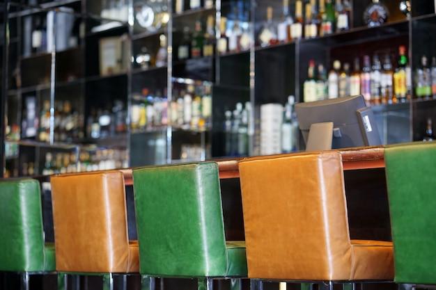 Interior del bar del hotel