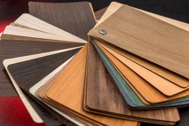 Interior de diseño de muebles o textura de material de muestra