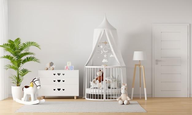 Interior de dormitorio infantil