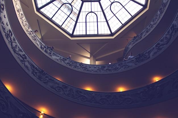 Interior de un museo