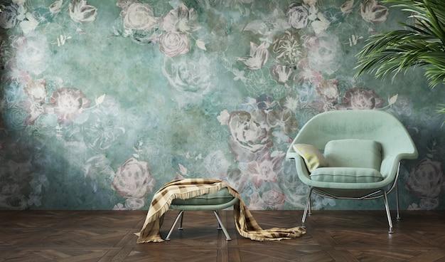 Interior de la sala de estar. lugar para su concepto.