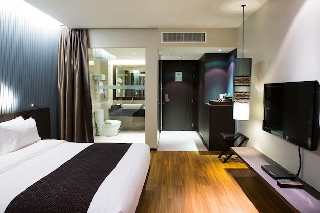 Interior del sitio de alojamiento cómodo