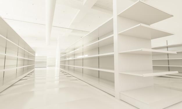 Interior del supermercado