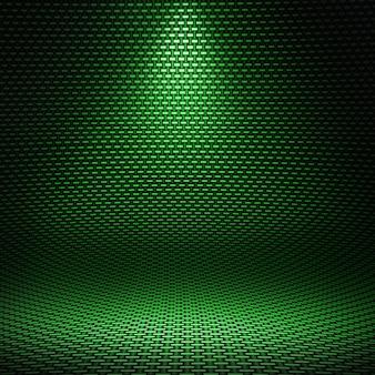 Interior texturizado de fibra de carbono
