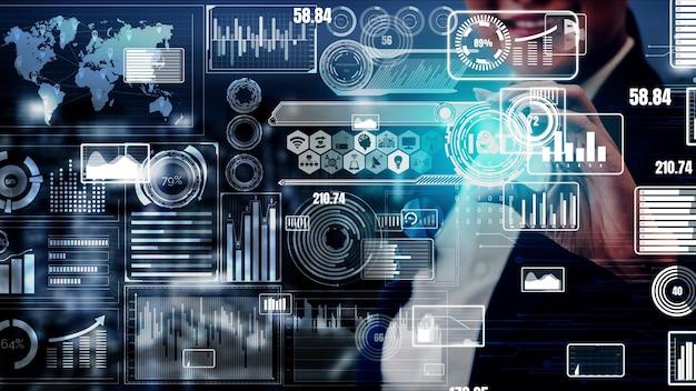 Internet de las cosas y tecnología de la comunicación conceptual