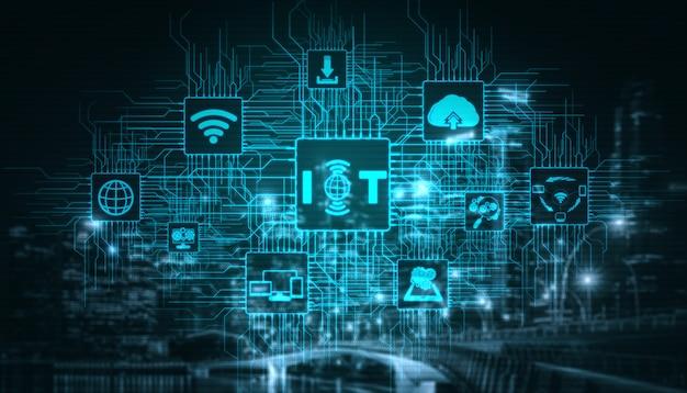 Internet de las cosas y tecnología de la comunicación