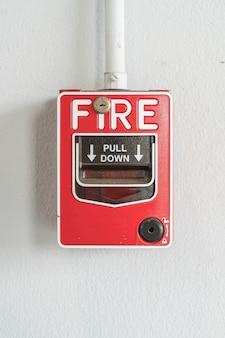 Interruptor de alarma contra incendios