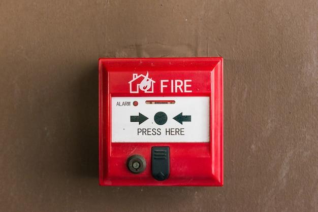 Interruptor de alarma de incendio