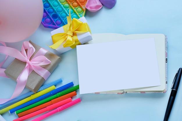 Invitación de fiesta colorida