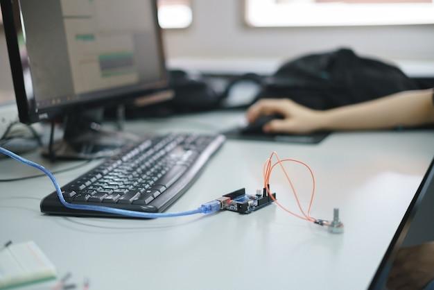 Iot kit de desarrollo para el experimento de ciencia educativa