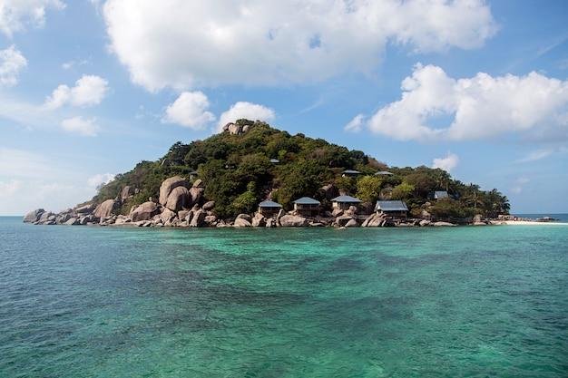Isla de koh nangyuan en tailandia