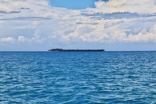 Isla de la prisión en zanzíbar, tanzania