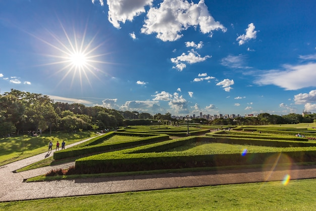 Jardín botánico, curitiba. estado de paraná, brasil