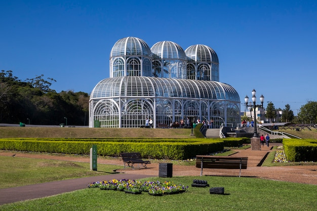 Jardín botánico de curitiba, paraná.