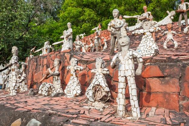 Jardín de rocas, chandigarh