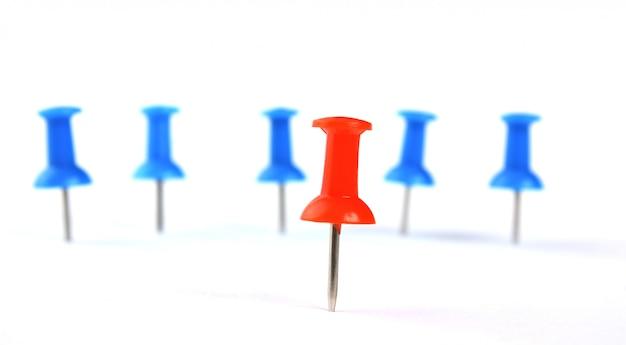 Jefe de equipo y el grupo como botones de papelería