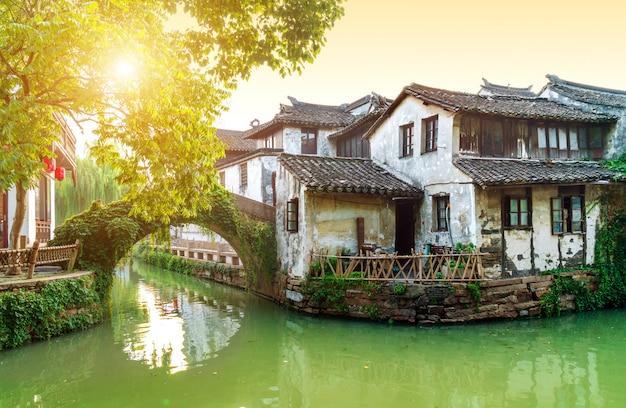 Jiangsu zhouzhuang paisaje