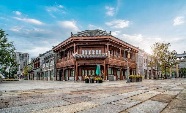 Jimo antigua ciudad edificio calle