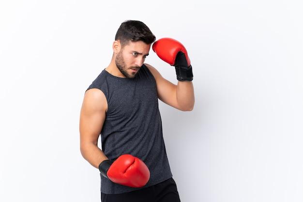Joven, boxeo