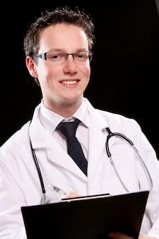 Joven estudiante de medicina