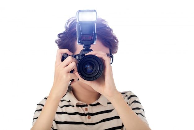 Joven fotógrafo