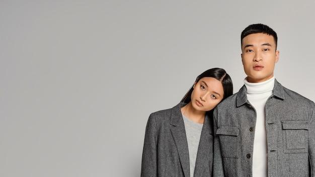 Joven pareja japonesa