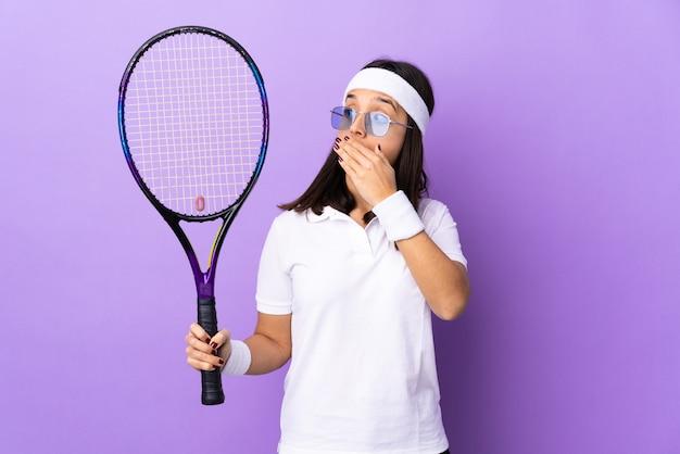 Joven tenista